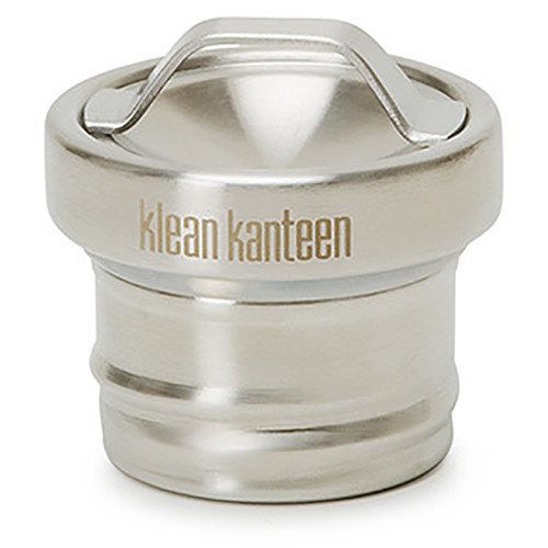 Klean Kanteen Steel Loop Cap for Classic Kanteen Water Bottle (Brushed Stainless)