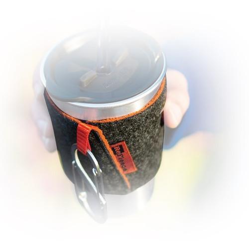 Klean Kanteen ReFleece Pint Cozie (Orange)