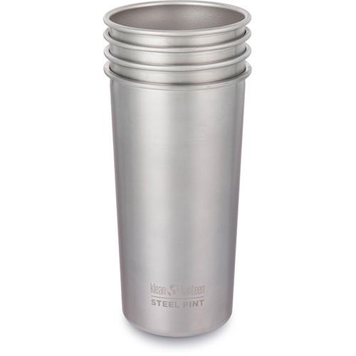 Klean Kanteen Steel Pint Cup (16 fl oz, 4-Pack)