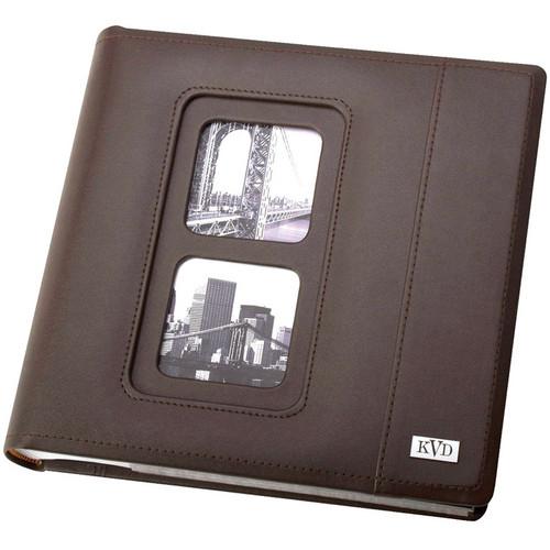 Kleer Vu 200 Photo 4x6 Avanti Photo Album (Brown)