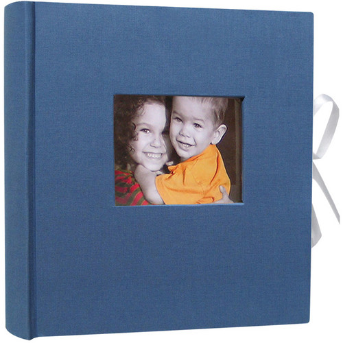 Kleer Vu 256 Photo 4x6 Este Flower Photo Album (Blue)