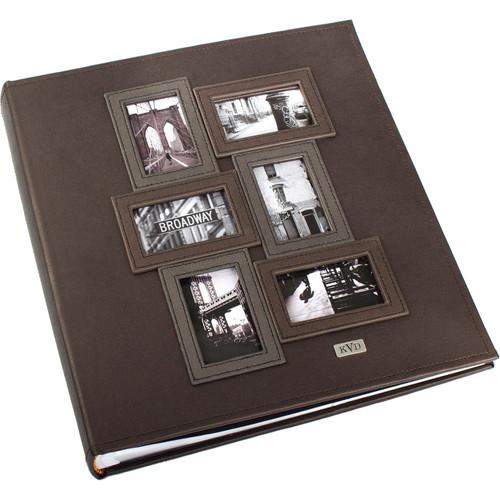 Kleer Vu 400 Photo 4x6 Kollage Photo Album (Brown)