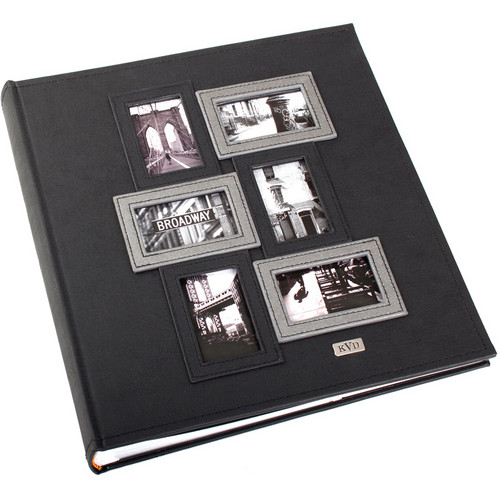 Kleer Vu 400 Photo 4x6 Kollage Photo Album (Black)
