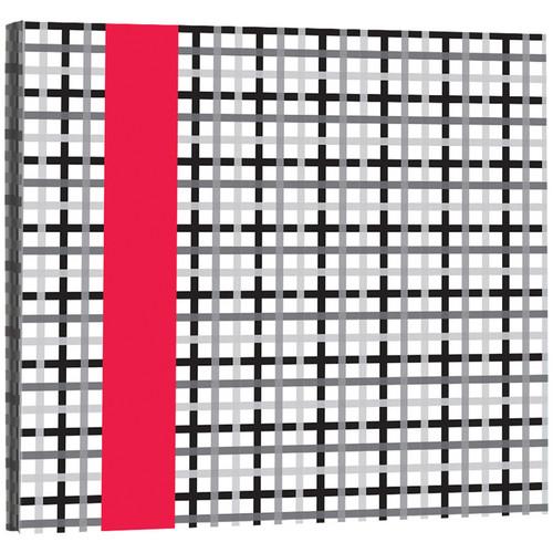 Kleer Vu 20 Page 12x12 Livin Scrapbook (Red)
