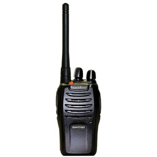 Klein Electronics Blackbox Bantam UHF 2-Way Radio with Kenwood 2-Prong Connector