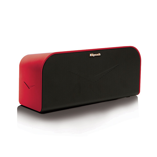 Klipsch KMC 1 Portable Wireless Music System (Red)