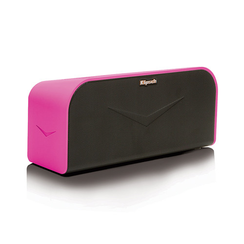 Klipsch KMC 1 Portable Wireless Music System (Magenta)