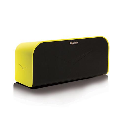 Klipsch KMC 1 Portable Wireless Music System (Yellow)