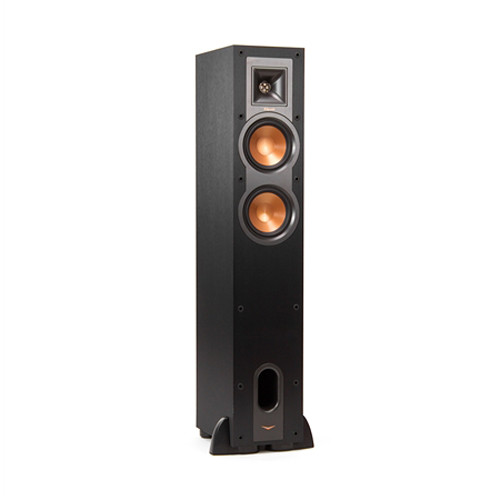 Klipsch R-24F Reference Floor-Standing Speaker (Single, Black)