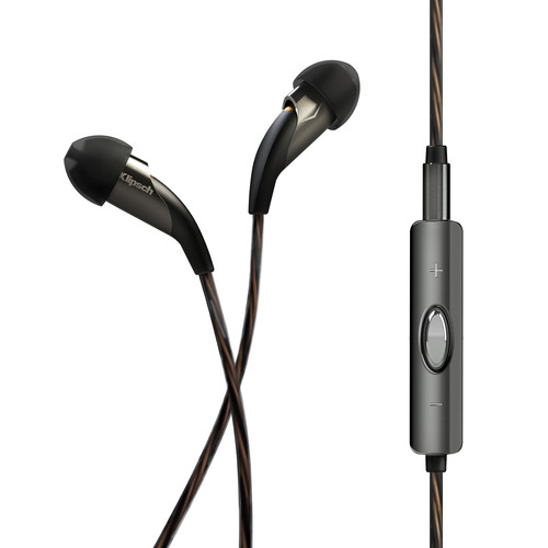 Klipsch X20i In-Ear Headphones (Black)