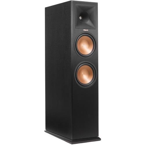 Klipsch Reference Premiere RP-280FA Dolby Atmos Front Speaker (Ebony Vinyl, Single)