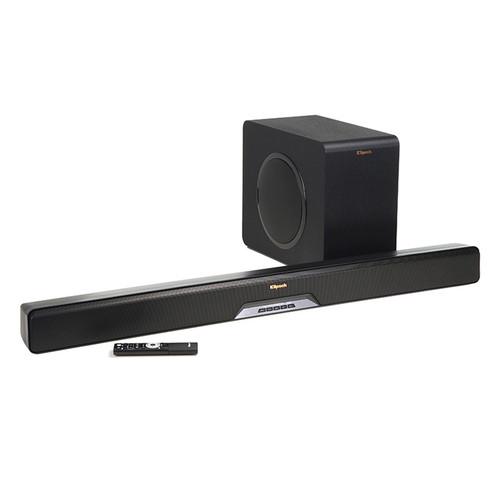 Klipsch Stream Reference RSB-14 135W 2.1-Channel Wireless Soundbar System (Black)