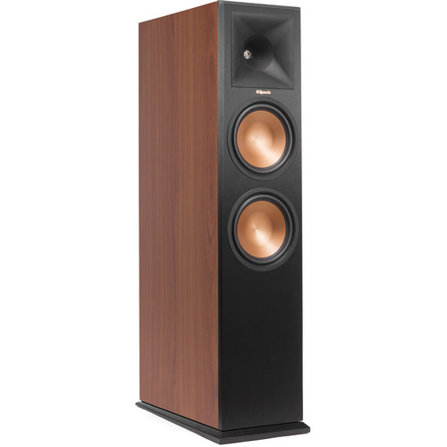 Klipsch Reference Premiere RP-280FA Dolby Atmos Front Speaker (Cherry Vinyl, Single)