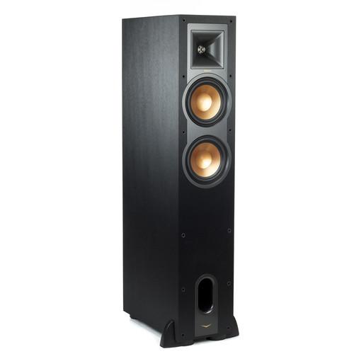 Klipsch Reference R-26FA Dolby Atmos Floorstanding Speaker (Black, Single)