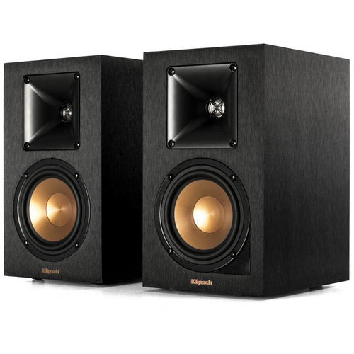 "Klipsch R-14PM 4"" 2-Way Active Wireless Bookshelf Speakers (Pair, Black)"