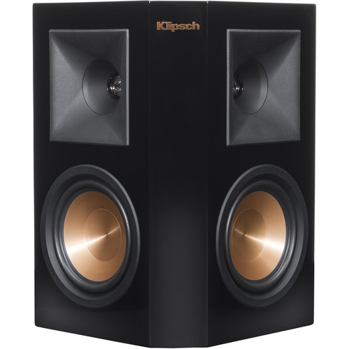 Klipsch Reference Premiere RP-250S Surround Speaker (Piano Black, Single)