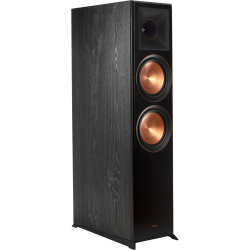 Klipsch Reference Premiere RP-8060FA 2-Way Floorstanding Speaker with Dolby Atmos Height Channel (Ebony, Single)