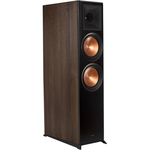 Klipsch Reference Premiere RP-8060FA 2-Way Floorstanding Speaker with Dolby Atmos Height Channel (Single, Walnut)