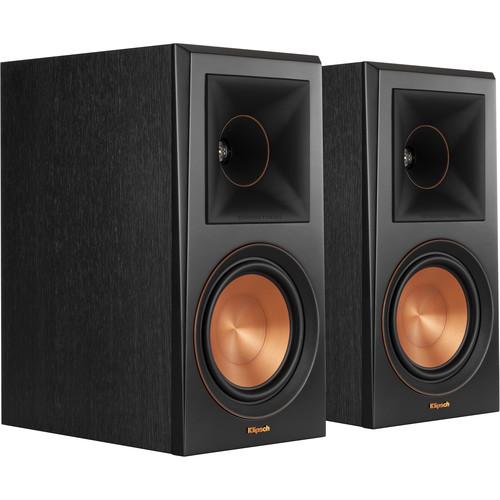 Klipsch Reference Premiere RP-600M 2-Way Bookshelf Speaker (Pair, Ebony)