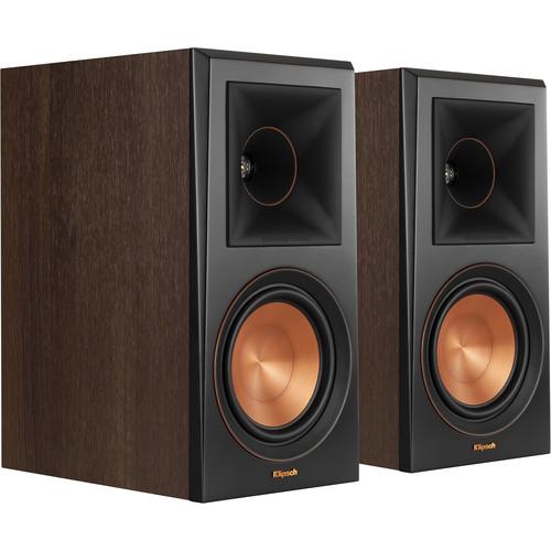 Klipsch Reference Premiere RP-600M 2-Way Bookshelf Speakers (Walnut, Pair)