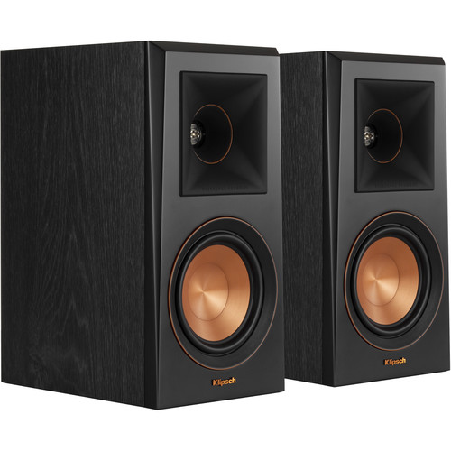 Klipsch Reference Premiere RP-500M 2-Way Bookshelf Speaker (Pair, Ebony)