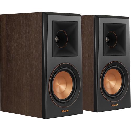Klipsch Reference Premiere RP-500M 2-Way Bookshelf Speaker (Pair, Walnut)