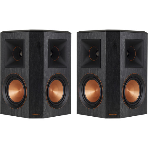 Klipsch Reference Premiere RP-502S Surround Speakers (Ebony, Pair)
