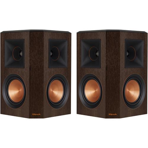 Klipsch Reference Premiere RP-502S Surround Speakers (Walnut, Pair)