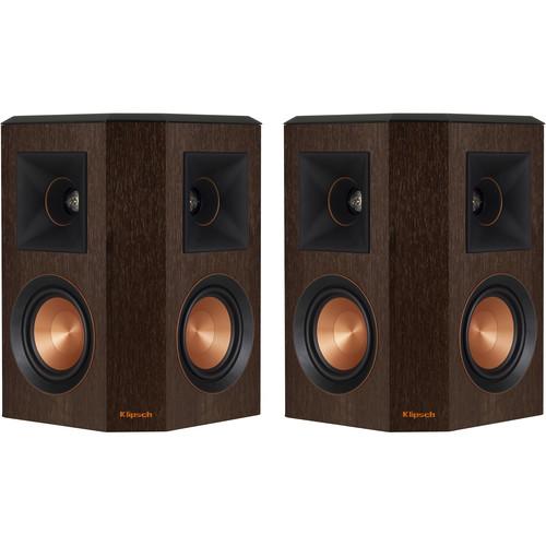 Klipsch Reference Premiere RP-402S Surround Speakers (Walnut, Pair)