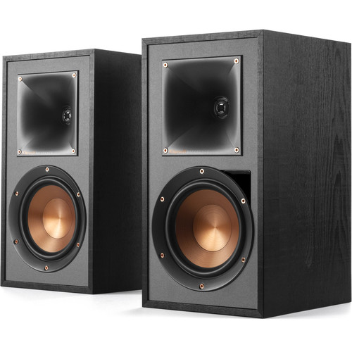 Klipsch R-51PM 2-Way Powered Bluetooth Bookshelf Speakers (Pair)