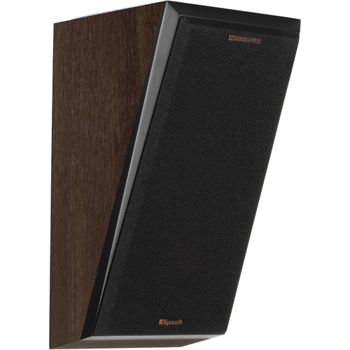 Klipsch Reference Premiere RP-500SA 2-Way Dolby Atmos Elevation/Surround Speakers (Walnut, Pair)