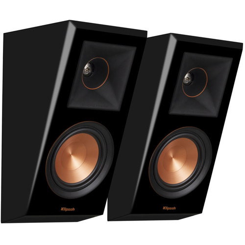 Klipsch Reference Premiere RP-500SA 2-Way Dolby Atmos Elevation/Surround Speakers (Piano Black, Pair)