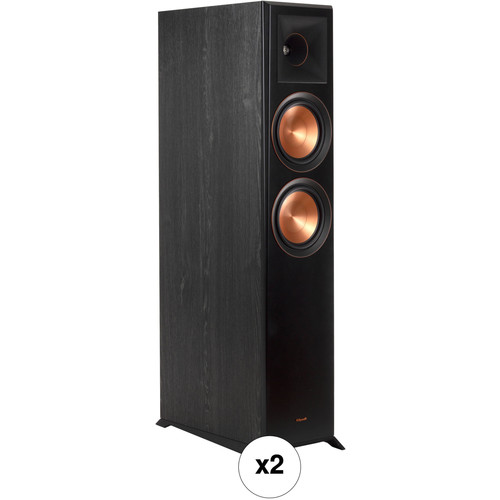 Klipsch Reference Premiere RP-6000F 2-Way Floorstanding Speaker Pair Kit (Ebony)