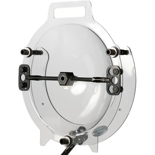 "Klover MiK 16 Hard-Mount Parabolic Collector Dish for Lavalier and Small-Diaphragm Microphones (16"", Mounting Bracket)"