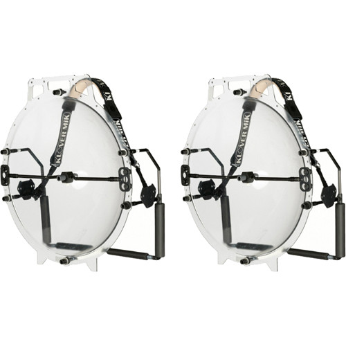 "Klover Dual MiK 26"" Parabolic Microphones"