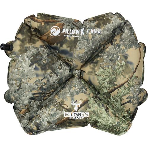 Klymit Pillow X Kings Camo Inflatable Pillow (Camo)