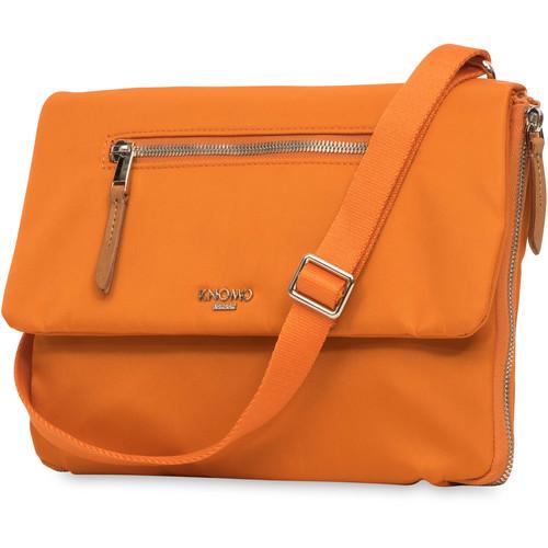 "KNOMO USA Elektronista Digital Cross-Body/Clutch Bag for 10"" Tablet (Papaya)"