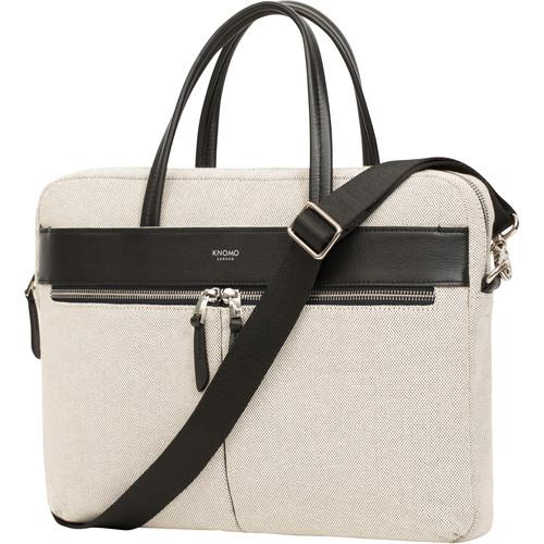 """KNOMO USA 14"""" Hanover Laptop Bag (Canvas)"""