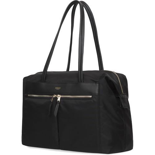 """KNOMO USA 15"""" Curzon Laptop Shoulder Bag (Black)"""