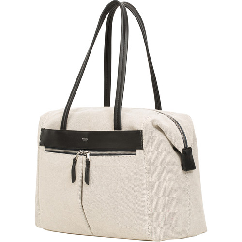 """KNOMO USA 15"""" Curzon Laptop Shoulder Bag (Canvas)"""