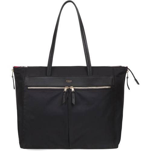 "KNOMO USA Grosvenor Laptop Tote Bag 15"" (Black)"