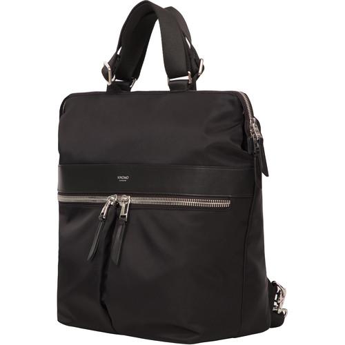 "KNOMO USA Gilbert Laptop Tote Backpack 14"" (Black)"