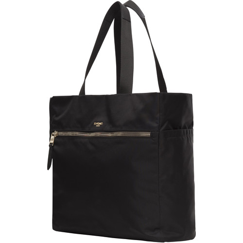 KNOMO USA Ryder Oversized Shopper Tote (Black)