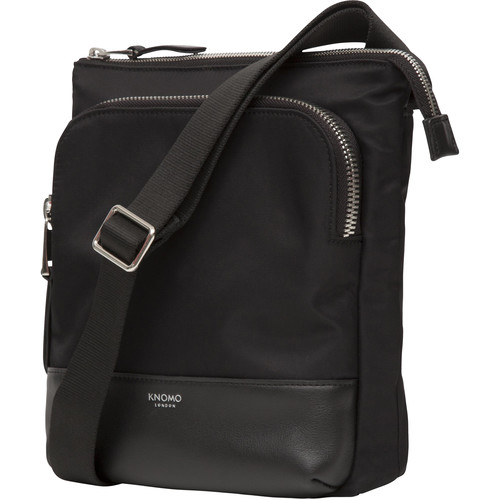 "KNOMO USA 10"" Carrington Mini Cross-Body Bag (Black)"