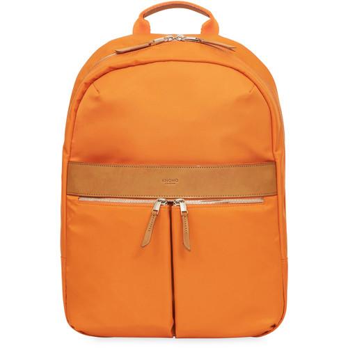"KNOMO USA Beauchamp Backpack for 14"" Laptop (Papaya)"