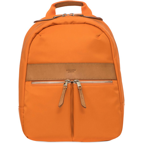 "KNOMO USA Mini Beauchamp Backpack for 10"" Tablet (Papaya)"