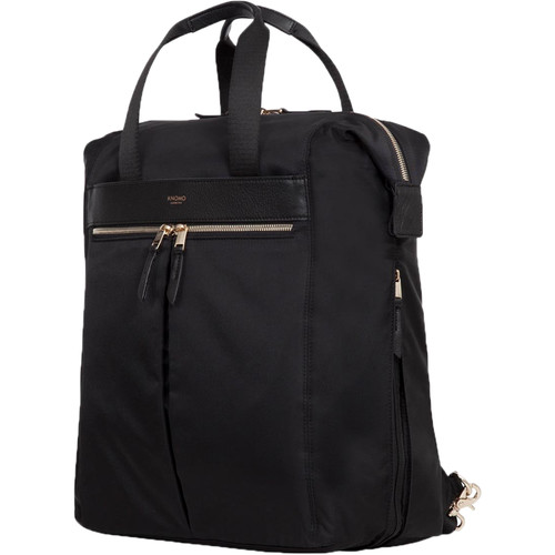 """KNOMO USA Chiltern Tote Backpack for 15.6"""" Laptop (Black)"""