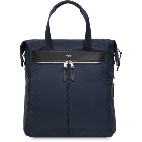 """KNOMO USA Chiltern Tote Backpack for 15"""" Laptop (Navy)"""
