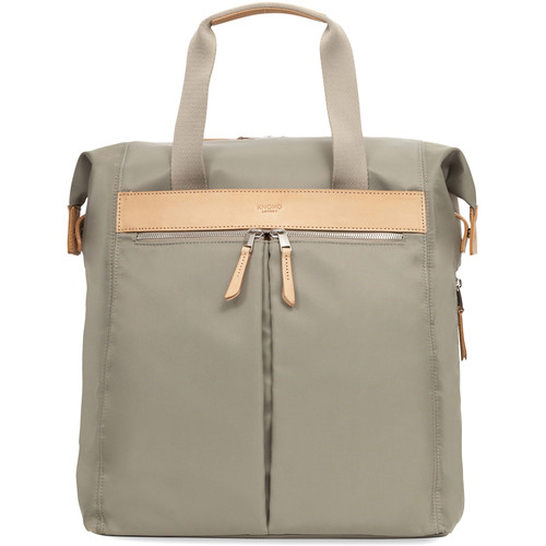 """KNOMO USA Chiltern Tote Backpack for 15"""" Laptop (Olive)"""