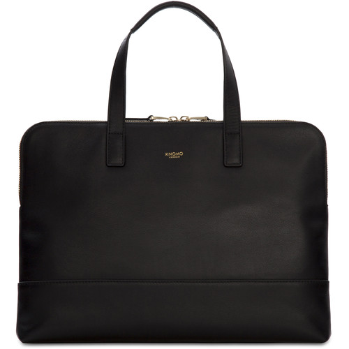 "KNOMO USA 14"" Reeves Laptop Briefcase (Black)"